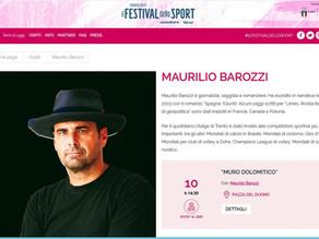 Al Festival dello Sport di Trento