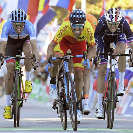 Valverde, iridato a 38 anni