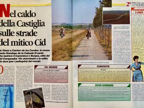 In bici a Compostela. Tappa2. Da Viana a Carrion de los Condes