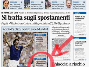 Addio a Paolo Rossi. Il signor Nessuno diventato icona nazionale - L'Adige 11/12/2020