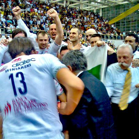 7 maggio 2008: il primo scudetto della Trentino volley