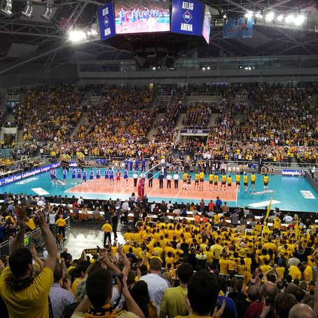 Campioni di Volley a Lodz 2010
