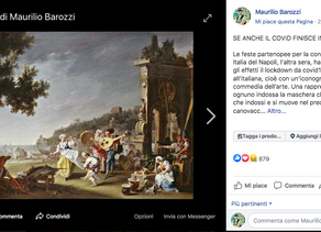 SE ANCHE IL COVID FINISCE IN COMMEDIA (Dalla mia pagina Fb Maurilio Barozzi Autore)