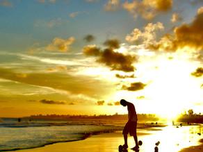 Sulle spiagge di Salvador de Bahia