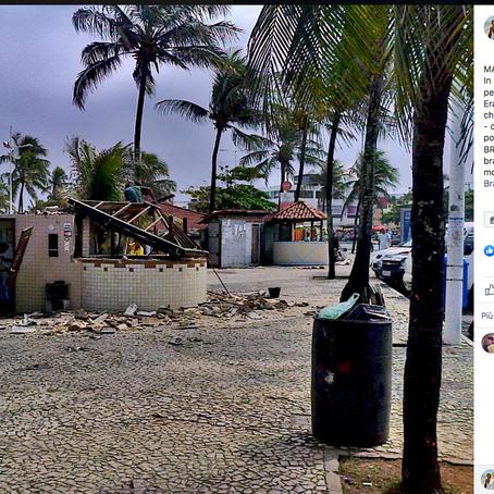 Macerie brasiliane (dalla mia pagina FB Caro Brasile)