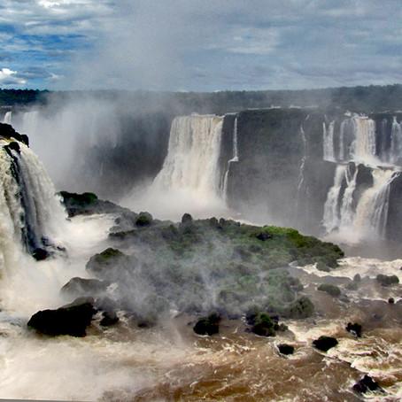 Iguaçu, le cascate