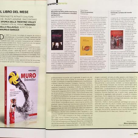 'Muro Dolomitico' libro del mese su Trentino Mese