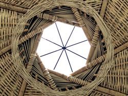 techo tejido de EL CANASTO