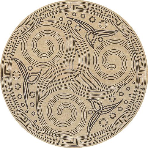 Dessous-de-plat « Celte »