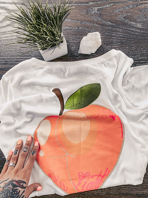Life is Peachy Slouchy Tee