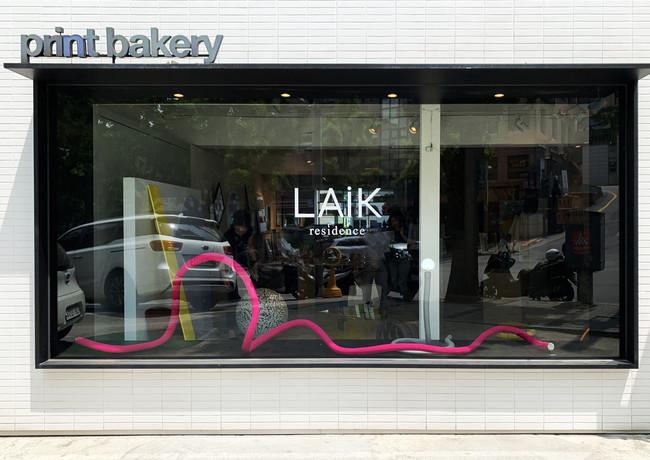 Print Bakery hannam flagship store, Seoul, Korea_window display