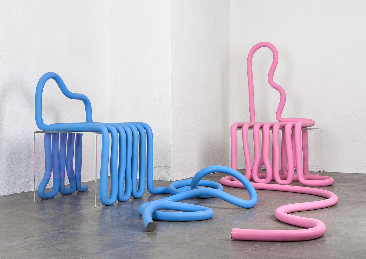 Noodle chair