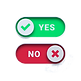 yes-green-checkmark-no-red-cross-switch-