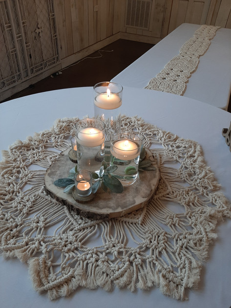 Headtable Macrame