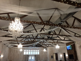 Ceiling Tulle