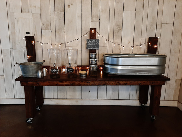 Refreshment Table