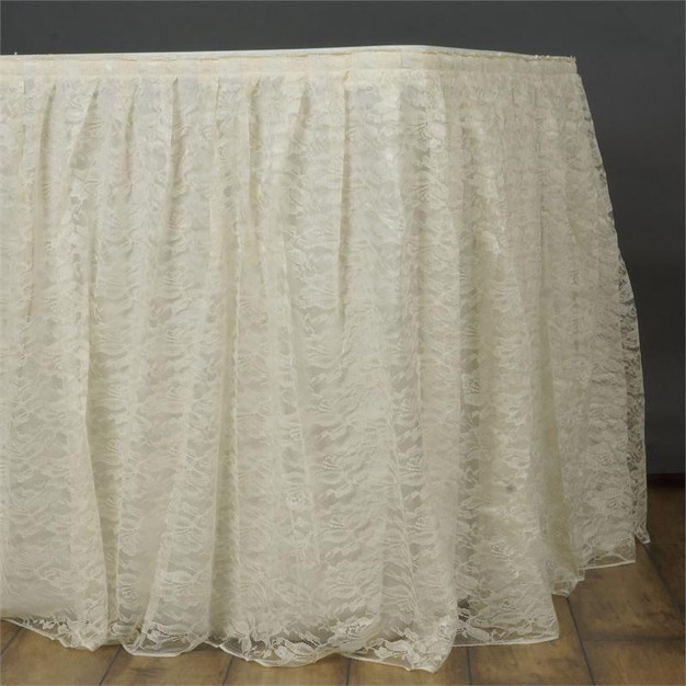 Lace Table Skirt