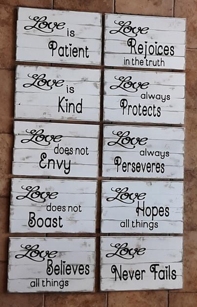 Altar Walk Signs
