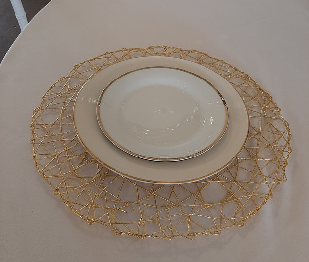Gold Nest Placemat