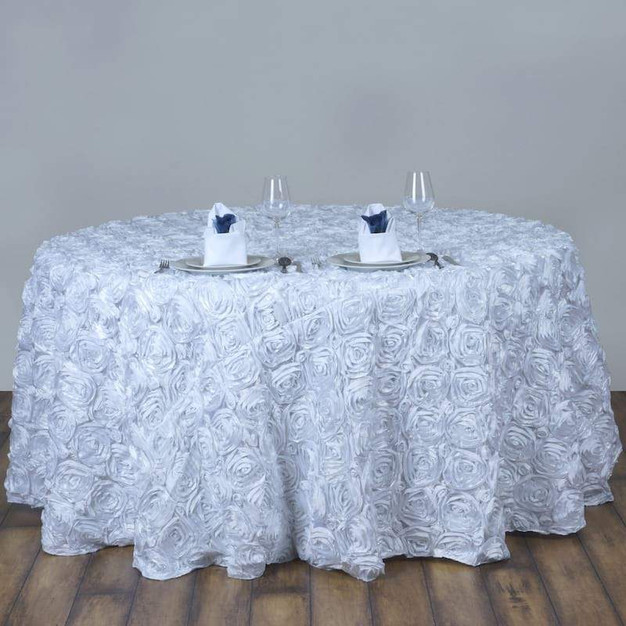 "120"" Rosette Table Cloth"