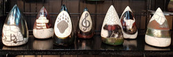cone shaped rattles