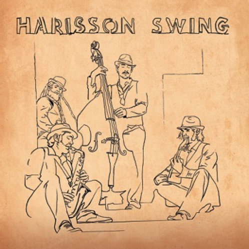 PREMIER ALBUM Harisson Swing - VERSION PHYSIQUE/CD (FRAIS DE PORT INCLUS)