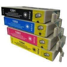 Pack Epson Compatible T1295 4 + 1 gratuite