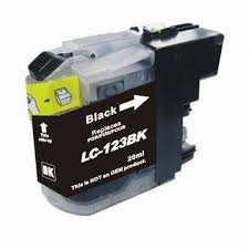 Cartouche LC123 Brother compatible Black