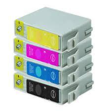 Pack Epson compatible T0555 - 4 + 1 gratuite