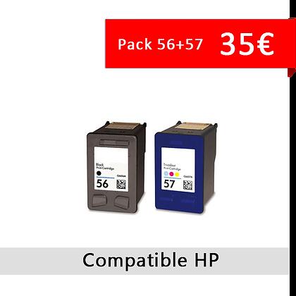 Cartouche HP 56+57 PROMO
