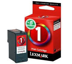 Cartouche d'encre Lexmark n°1 Color