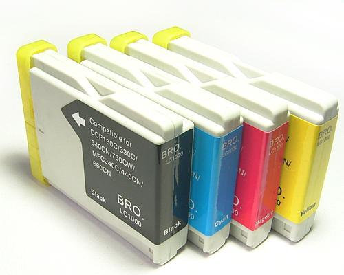 LC1000 PACK 4+1 compatible pour Brother