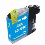 Cartouche LC123 Brother compatible Cyan