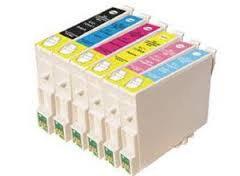 Pack Epson Compatible - T0487 - 6 + 1 gratuite