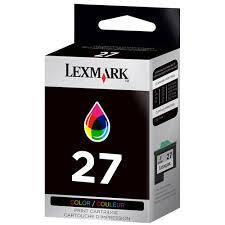 Cartouche d'encre Lexmark n°27 color