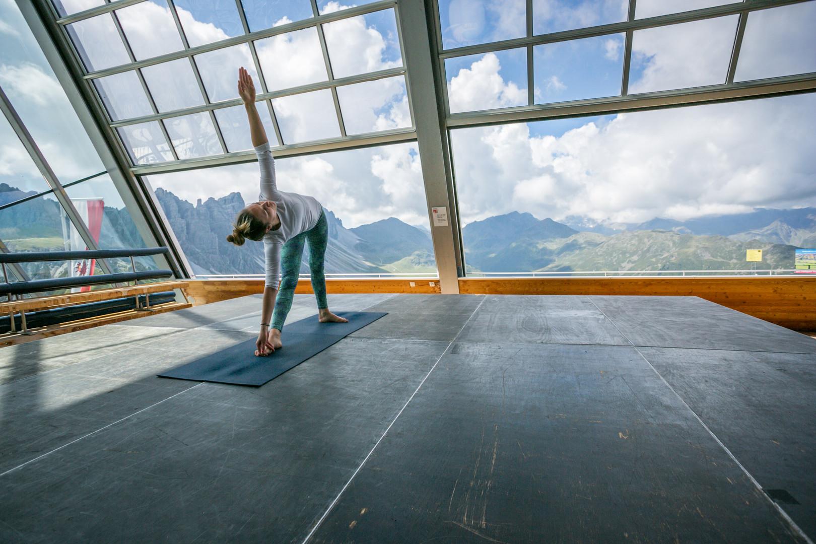 Yoga am Berg 2017