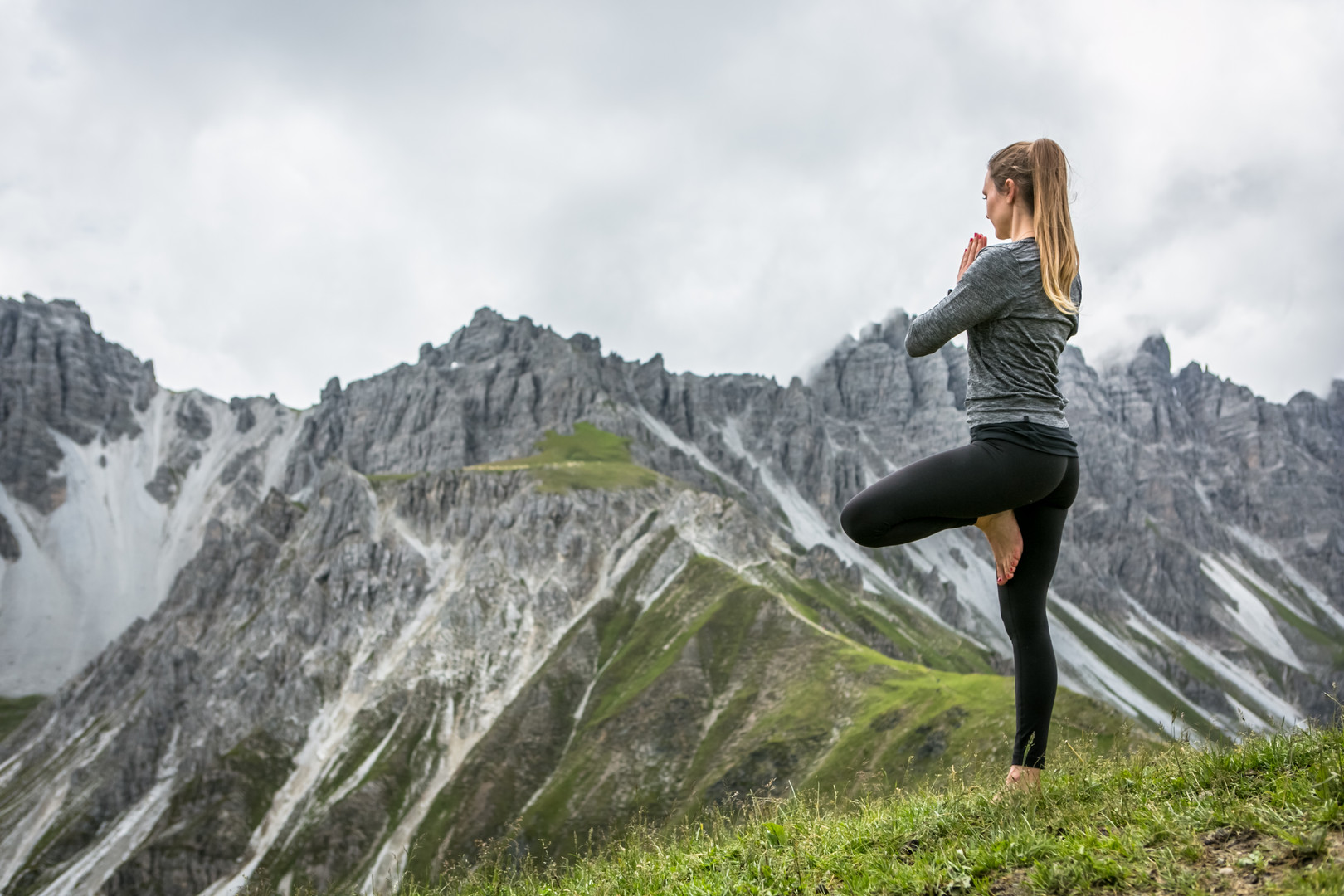Yoga mit Ausblick Innsbruck