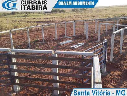 Fotos Curral em Construção na cidade Santa Vitória - Minas Gerais