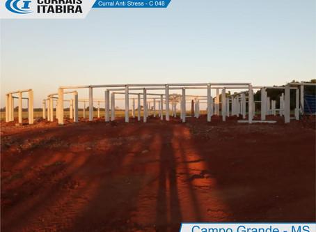 Fotos obra em andamento - Curral Anti Stress C048 - Campo Grande-MS