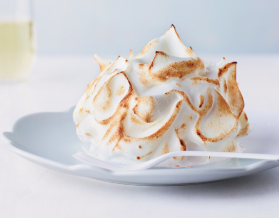 Food + Wine Magazine Recipe of My Coconut Baked Alaska