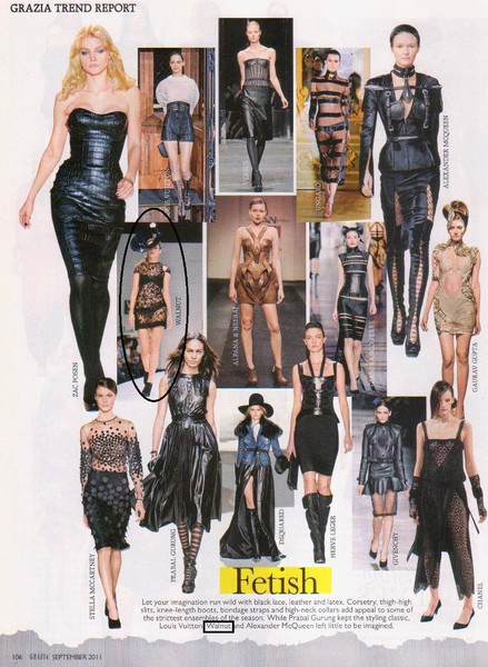 Grazia Trend Report featuring Walnut amongest the best in fashion world