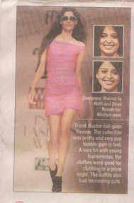 Times of India covers SS '11 show