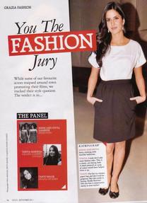 You The Fashion Jury with Grazia