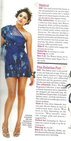 Walnut hand painted collection features in Marie Claire
