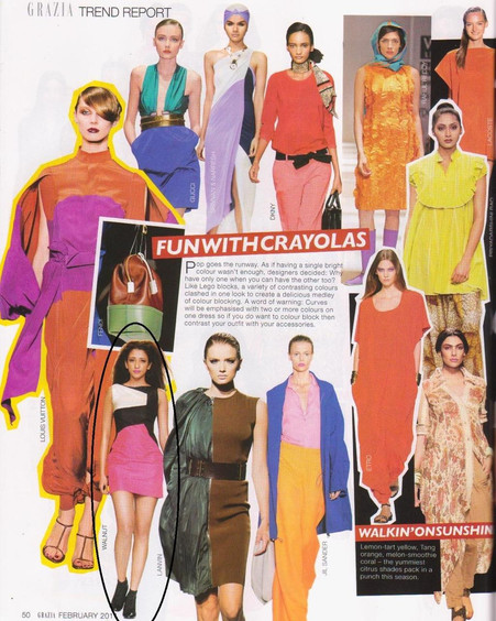 Garzia India edition featured Walnut Spring Summer 2011 in Trend Report