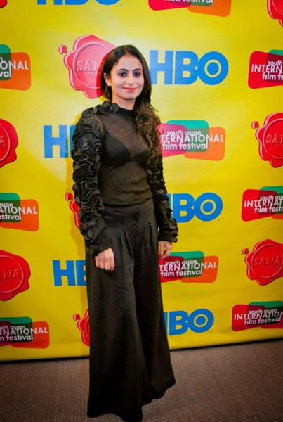 Rasika Dugal in Walnut Outfit at South Asian International Film Festival 2013