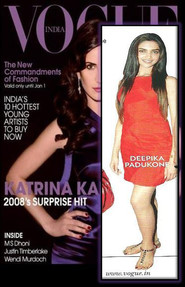Deepika Padukone steps out in very chic Walnut Dress