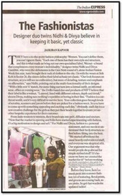 The Indian Express Talking to Designers