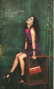 AMRIT MAGHERA in Walnut dress for FEMINA what to wear edition