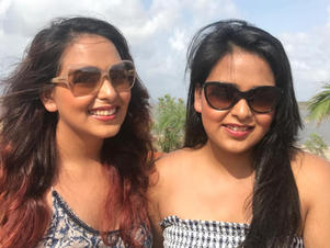 In Conversation with Fashion Designer sister duo, Divvya & Nidhhi…